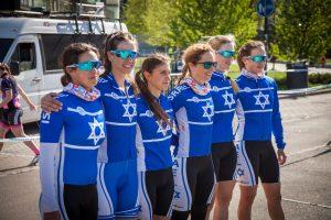נבחרת ישראל אופני כביש נשים צילום matti ouvinen